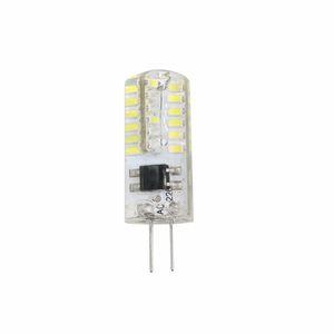 G4 Lâmpada LED Mini Corn Luz AC 220V 48LED Silicone milho lâmpada branca quente Branco Iluminação