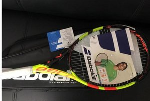 Wholesale top quality tennis rackets Red racquet with string and bag 1 piece free shipping