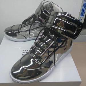 Marque Martin Maison Margiela Casual Marque Chaussures En Cuir Véritable Chaussures De Mode Haut Bas Rouge Baskets Hommes Sneakers Avec Boîte