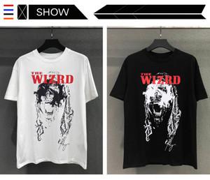 Designer Mode europäische und amerikanische Hip-Hop-T-Shirt-Gezeitenmarke Rhude Zukunft x Monster Merch T-Shirt High Street hohe Qualität