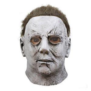 Маски Halloween Michael Myers Mask Horror Карнавальная маска маскарад Cosplay взрослых анфас шлем Scary Halloween Party Страшные маски