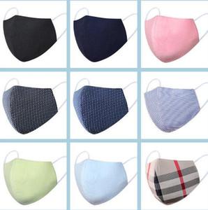 DHL de envío 50PCS reutilizable lavable boca de algodón de la mascarilla del respirador cubierta anti-polvo diseñador cara máscara de la máscara de lino XD23402