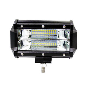 Бесплатно 2x 72 Вт светодиодные фонари пятно наводнения автомобиля противотуманные фары освещения частей для внедорожных ATV UTV 4x4 автомобильный грузовик 12 В 24 В светодиодные фонари работы