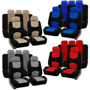 4 Colors Style Front Rear Universal Car Seat Covers Cute Auto Car Seat Covers Vehicles Accessories New