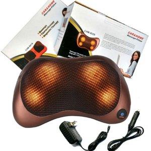 Qualitäts-Massagegerät Hals Entspannung Kissen Massagezerhacker Elektrische Schulter Rückseitemassager-Car.shiatsu Massage-Kissen mit Heizung