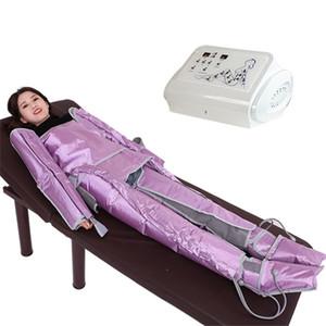 Basınç uygun lenf drenaj tertibatı hava basıncı bacaklar lenfatik drenajı tüm vücut masajı 24 bölmeler Pressotherapy