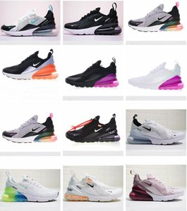 2020 Releasing Mens travis scottairvapormaxmax 270 270s react shoes Black White Running Shoes For Women Sports Trainers Sneak
