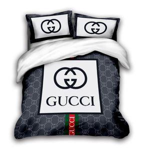 de lujo de tamaño sistemas del lecho del diseñador rey 3D cubierta del edredón almohada caso de matrimonio tamaño edredón de diseño cubierta de edredones de cama fija C11