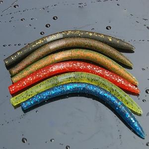 Novo Worm Para Neko Rig Wacky Rig 14 cm 8.5g Gemany Material Pvc Resistente Macio Grande Plástico Macio Nadar Isca De Pesca isca