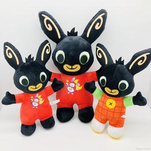 25cm animali Bing Bunny Plush Toys farciti bambola giocattolo Amici di Bing Bunny coniglio bambola Animal morbida Bing per i regali di Natale Bambini Bambini
