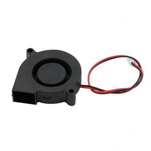 200pcs A8 A6 5015 Ventilador de ar 12V 24V Ultra-quiet oleaginosas cerca de 7500 RPM Printer Turbo Fan pequeno para 3D