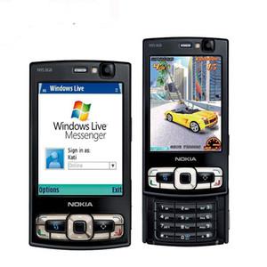 تم تجديده الأصل نوكيا N95 8GB ROM 2.8 بوصة شاشة 5.0MP كاميرا الجيل الثالث 3G WIFI GPS بلوتوث الهاتف