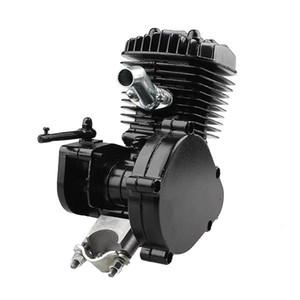 80cc 2-السكتة الدماغية دورة بمحرك دراجة الجسم الأسود محرك للسيارات كيت