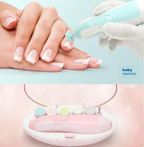 Bebek Otomatik Elektrikli Tırnak Giyotin Bebek Manikür Seti ile LED Ön Işık Bebek Tırnak Bakımı Makas Elektrikli Manikür Seti GGA3501-1