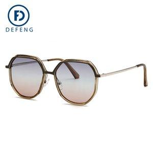 Yeni Renkler Zarif Yuvarlak Tel Çerçeve Kaplama Gözlük Gözlük Sıcak Vintage Moda Güneş Kadınlar Marka Tasarımcı UV400 C19041201 Geldi