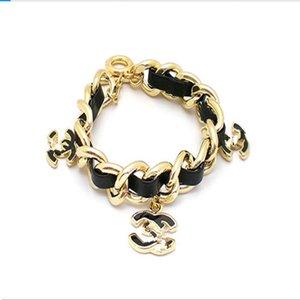 Fashion Jewelry leather Bracelet Lovely bracelet crystal cuff bangle Good Luck Bracelets Men and women lucky bracelet