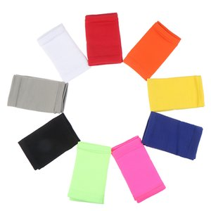 Athletic Bandeaux Brassards poignet dans 9 Sweatband différentes couleurs, fait par haute élastique Meterial Protection Pression confortable