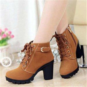 Женская shoes2019 новые женские туфли короткие сапоги женские сапоги Мартин сапоги женские пояса толщиной пряжки с обувью женщин ooerg