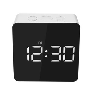 Multifonctions Table bureau horloge numérique réveil numérique LED bureau alarme extérieure islamic température de salle de prière 24