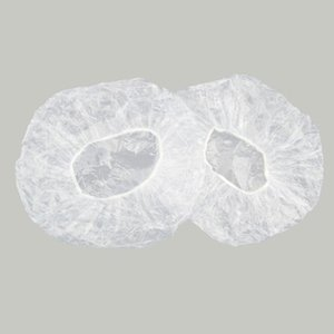 Shower Cap Disposable, 100 PCS Bath Caps Large Thick Clear Waterproof Plastic Elastic Hair Bath Caps for Women Girls