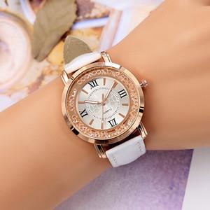 Trend creative models quicksand diamond women's watch belt watch female ball quartz watch