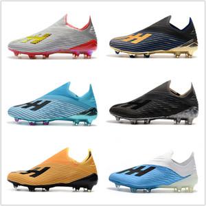 Nike football boots Zapatos de fútbol para hombre de alta calidad X 19.1 FG con cordones de zapato Botas de fútbol baratas crampones de botas de fútbol x19 scarpe da calcio