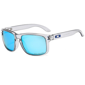 2019 패션 높은 품질 TOP 브랜드 안경 선글라스 캐주얼 야외 스포츠 자전거 운전 태양 안경 자외선 편광 안경