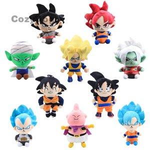 Anime Dragon Ball Z Son Goku Piccolo Vegeta Super Son Goku Plush Toy Super Saiyan Soft Stuffed Dolls 17-25cm Gift