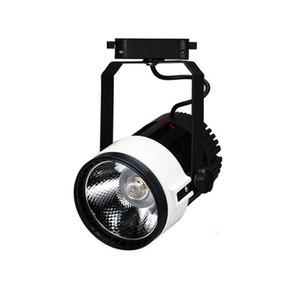 Fanlive 10pcs COB Track Light 15W 20W 30W LED Spot Rail Light Track Lighting Lampada per negozio di abbigliamento Galleria d'arte Negozio Vetrina