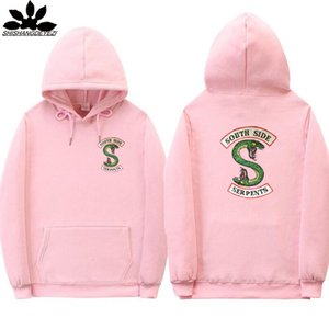 Serpents South Side Hoodie Sweat-shirts Mode imprimé serpent Riverdale Sweats à capuche Homme Femme Streetwear Oversize Sweat-shirt