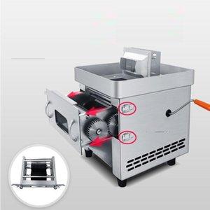 آلة دليل الاستخدام المزدوج المطبخ الكهربائية الصغيرة اللحوم آلة كتر سحب التدريجي بليد أجاد القطاعة التكعيب آلة التجاري اللحوم القطاعة