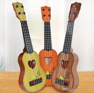 39cm 44cm Mini Ukulele Simulation Guitar Kids Musical Instruments Toy Music Education Development Kids Birthday Christmas Gift