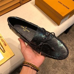 19FF الإيطالية رجل حذاء فاخر عرضي الماركات الصيف الرجال متعطل جلد طبيعي الأخفاف مريح للتنفس الانزلاق على أحذية