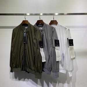 2020 mens di estate giacche di cotone dettaglio striscia striscia riflettente antistrappo reticolo importato nero due colore del mantello asiatico dimensioni per i maschi