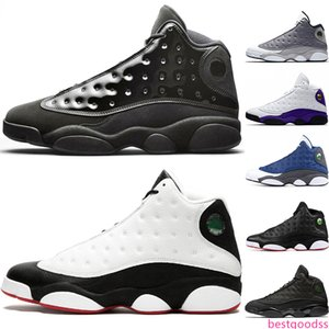 Cheap 13 Cap And Gown 13s Rivals Men Basketball Shoes Atmosphere Grey He Got Game Mens Designer Trainer Sports Sneakers Drop Shipping