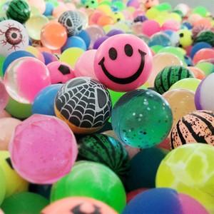 Bolas hinchables de colores Suministros de fiesta de cumpleaños Bolsa de botín Relleno de juguete Bolas de jet para niños Pequeñas bolas hinchables Regalos de fiesta c557
