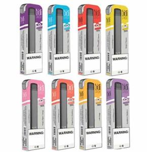 En stock!! Top Bidi bâton préremplies à usage unique Pod Portable Device Kit Vape Pen Cartouches de vapeur de 280mAh batterie CIGS E Chariots