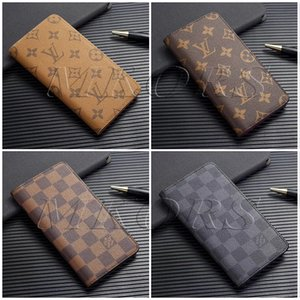 Official Folio Damier Wallet phone case for iPhone X 11 11Pro XS MAX XR 8 8plus 7 7plus for iPhone7 6 6s Plus 11pro Leather Back Cover