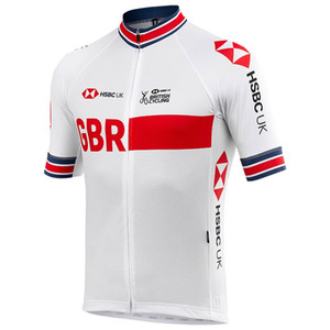 Maillot cyclisme 2020 Pro Team GB Cyclisme Vêtements d'été Respirant Maillot VTT Ropa Ciclismo