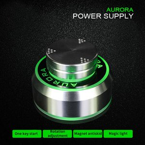 1PC جديد أورورا الوشم التيار الكهربائي لآلة الوشم 2 القدم وضع دواسة أسود فضي الألوان