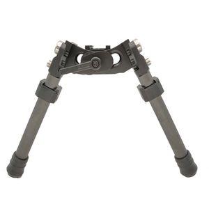 LRA in fibra di carbonio leggera Tactical Bipod Long Range Bipod per fucile da caccia