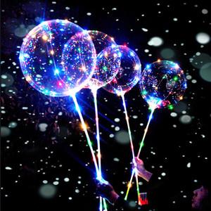 LED Balloon Reusable Luminous Baloon Globo Kids Ball Supplies Happy Birthday Party Home Decor Gift Wedding Ballons Accessories