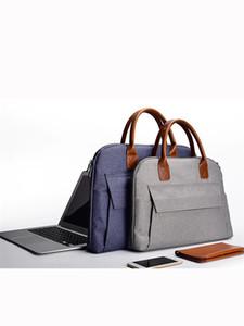 أنيقة لأجهزة الكمبيوتر المحمول 15.6 بوصة المرأة الدفتري حقيبة امرأة ورجل ماك بوك اير 13 حالة لينوفو اليوغا حقيبة يد