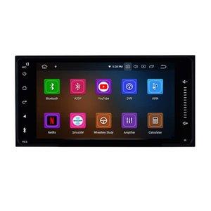 2 Unidad Din Car Stereo Android 9.0 pantalla táctil del GPS Navi para Toyota HILUX 2001 a 2011 de alta definición con Bluetooth USB WiFi Soporte SWC 1080P