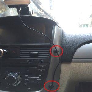 uto Fastener haute qualité voiture fil Câble Mont Adaptive désassemblage Ordinateur USB Ligne d'arrivée clip fixe Ligne C ... Automobile Fastener
