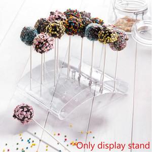 20 trous gâteau Kiosque Lollipop Stands Affichage gâteau Support à Lollipop U Affichage Shaped Bricolage Cuisine Gadgets Bakeware