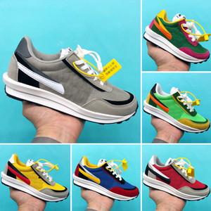 NIKE LDV WAFFLE SACAI Ayakkabılar Sacai LDV Waffle Daybreak Eğitmenler Erkekler çocuklar Kadınlar Için tasarımcı Tasarımcı Işkembe S Spor Koşu Ayakkabıları Boyutu Eur 24-35