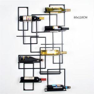 Arte del ferro Red Wine Rack sughero Container Bottle Holder Kitchen Bar Mostra Metal Craft regalo Artigianato Vino Animal Allestimento Stand Nuovo
