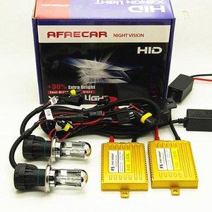 HID 키트 4300K에서 6000K에서 8000K 크세논 AFAECAR 12V H4 HI LO 빔 h4-3