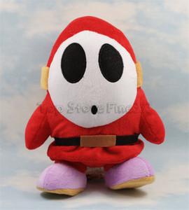 Shy Guy Plush Toy 17cm Stuffed Mario Wario Luigi Stuffed Plush Dolls Suave Bebê Brinquedos W15934